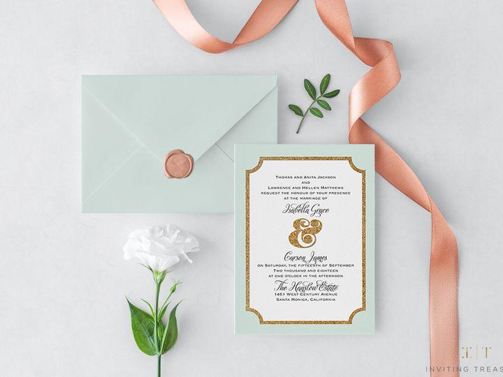 Tmx 1517884076 8613ed3c33496373 1517884074 E6db04317ffe24dd 1517884074412 3 Ampersand Corkboar New Providence, NJ wedding invitation
