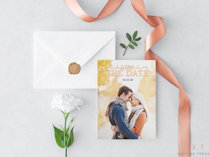 Tmx 1517884348 B10e805fe85801f3 1517884344 F8c736a24f9aaa04 1517884343741 1 Pure Portrait Save New Providence, NJ wedding invitation