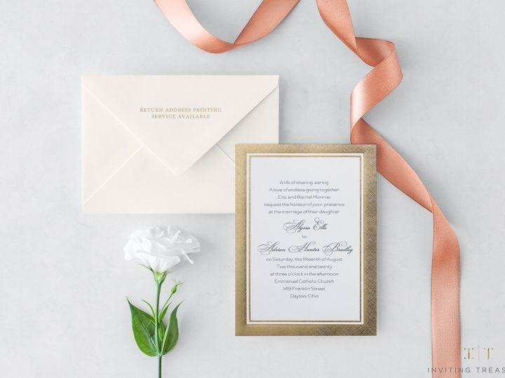 Tmx Elegant Design Invitations 51 929197 New Providence, NJ wedding invitation