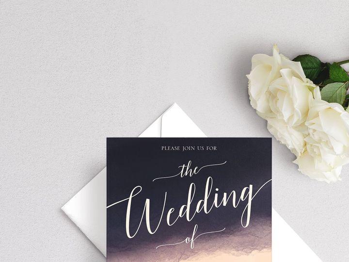 Tmx Formal Watercolor Wedding Invitation 51 929197 1555963592 New Providence, NJ wedding invitation
