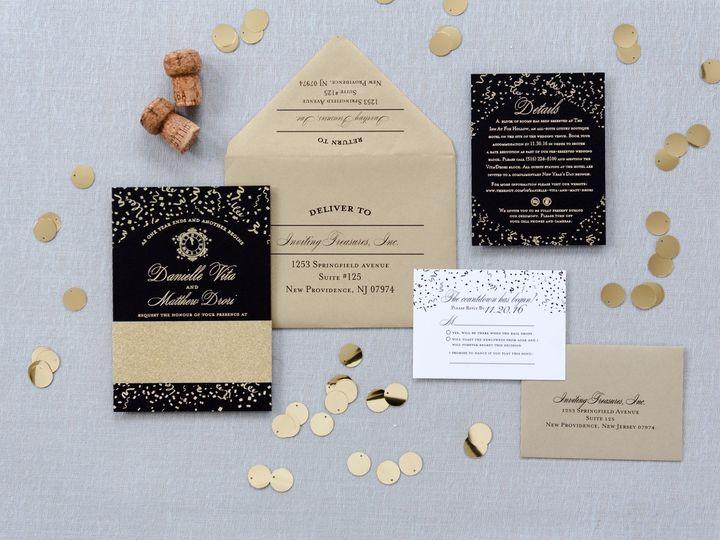 Tmx Invtres 0121 Medium 51 929197 157572483712092 New Providence, NJ wedding invitation