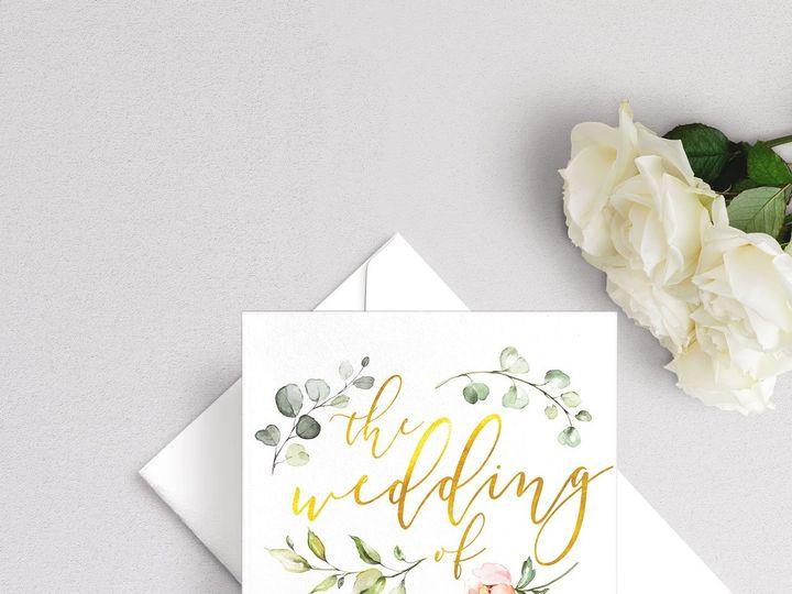 Tmx Love Blooms Wedding Invitation 51 929197 1555963606 New Providence, NJ wedding invitation