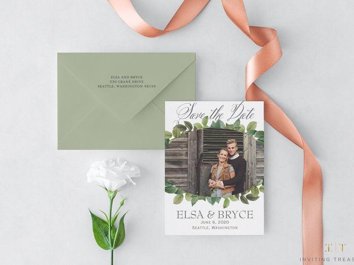 Tmx Save The Date Magnet 2 51 929197 New Providence, NJ wedding invitation