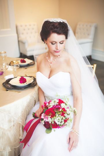 Trump Winery Wedding Inspiration, featured in Style Me Pretty, March 2015.   Jewelry by J'Adorn...