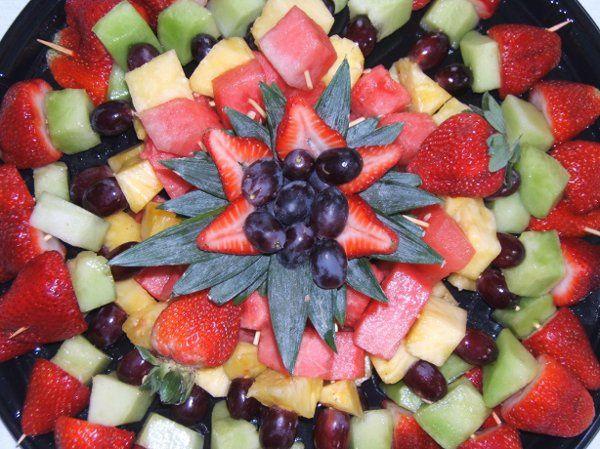 Mix fruit creation