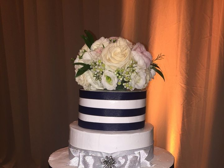 Tmx 1475111711122 3 Tier With Navy Gambrills, MD wedding cake