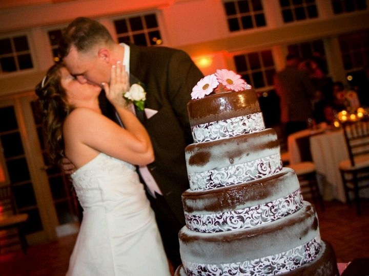 Tmx 1475111740600 5 Tiered Ganache Gambrills, MD wedding cake