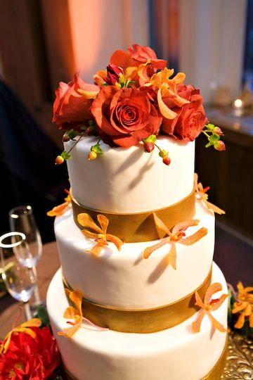 Roses & Berries Cake