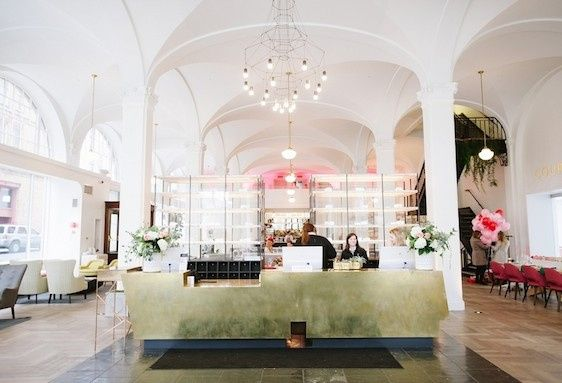 Interior view of Quirk Hotel