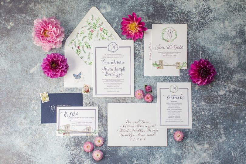 A whimsical letterpress suite