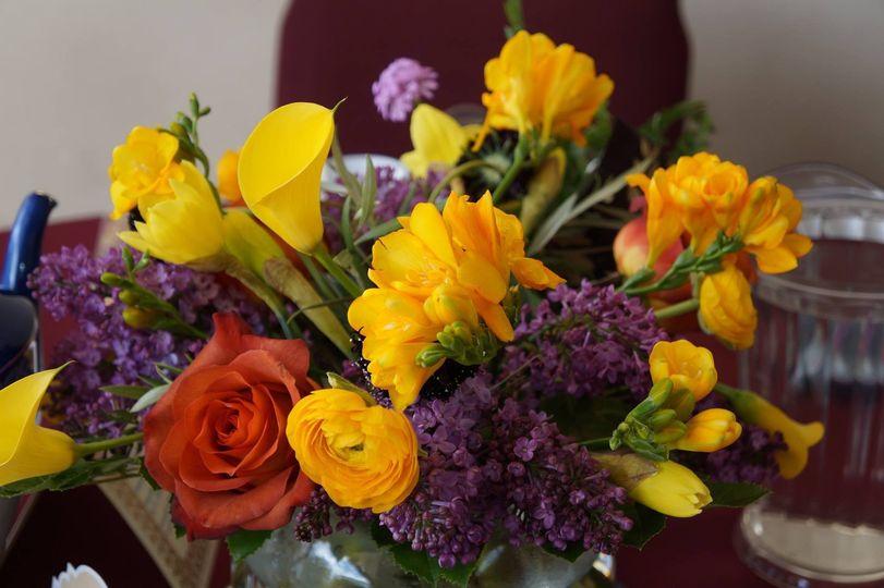 Fresh looking flowers