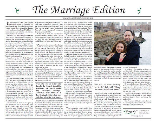 English version of Erik and Karen's Newspaper Style