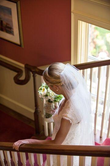Bride entering the reception