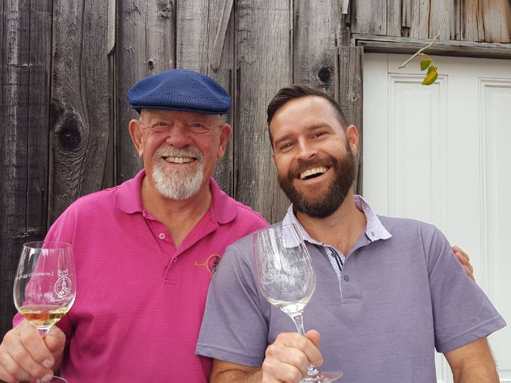Photo of the winemakers