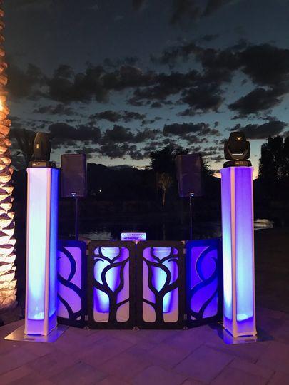 Out door venue set-up