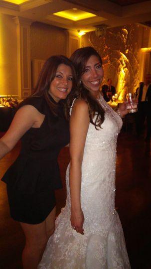 Bride and Rasheeda