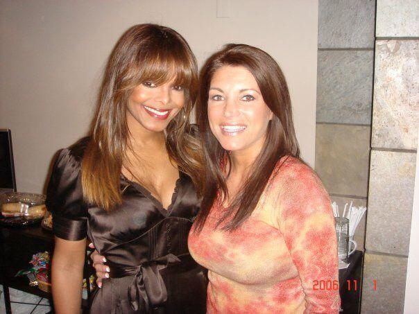 "Rasheeda with her former boss ""miss jackson"""