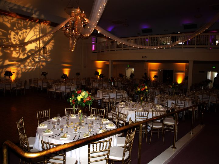Tmx 1495750044588 Rose Ballroom With Gold Chivari Chair Fullerton, CA wedding venue