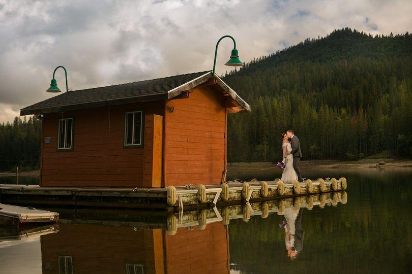 pines resort wedding