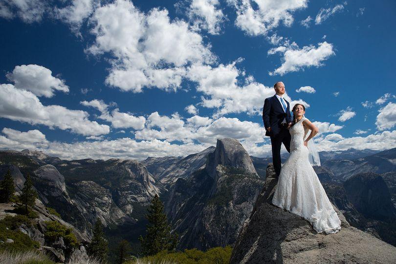 glacier point wedding