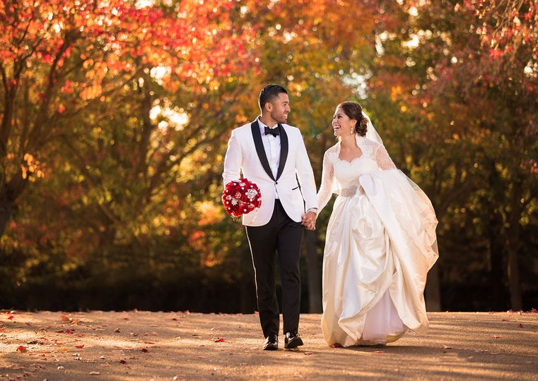 brookside wedding stockton