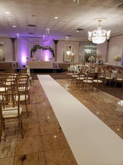 Limited Ceremony Set-up