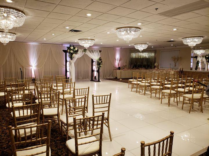 Ceremony in the Lido Ballroom