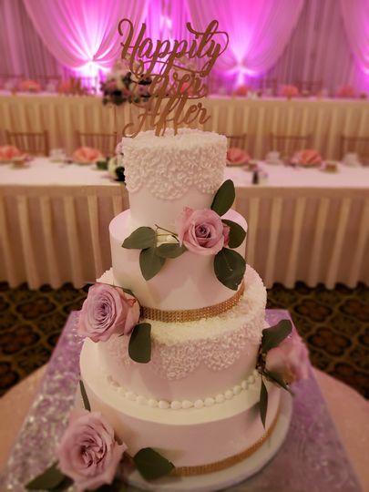 Wedding Cake in Crystal