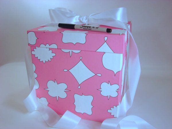 The Write A Wish Gift Box is perfect for Bridal Showers & Bachelorette Parties.  Replace those...