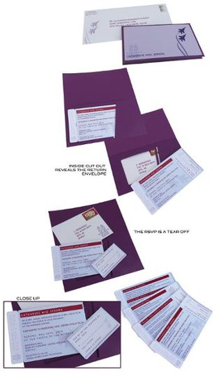 This invitations incorporates many elements. The bride and groom are both jet fighters in the...