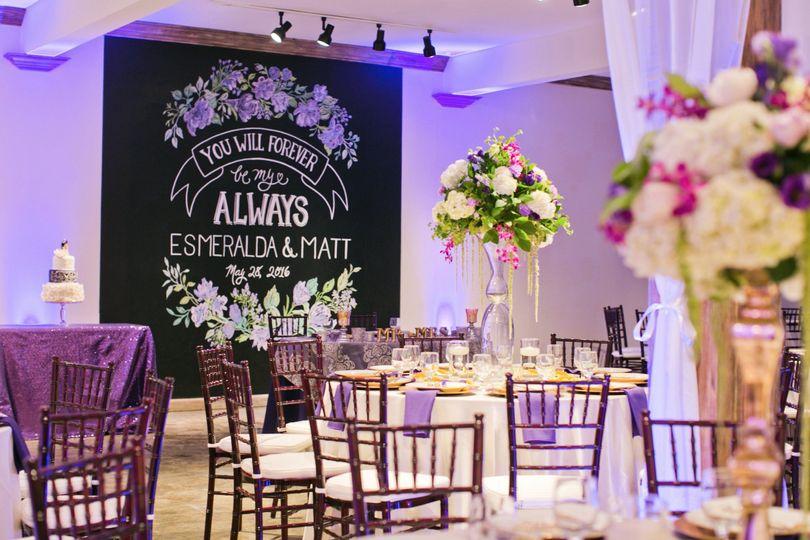 Violet weddings
