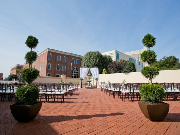 Tmx 1451664423121 Courtyard003 High Point, North Carolina wedding venue