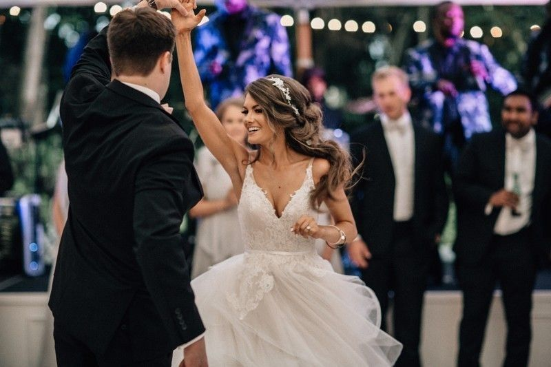 Twirling on the dance floor - Bethany Small Photography