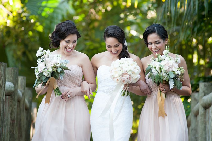 Bridesmaids at The old Grove, Miami