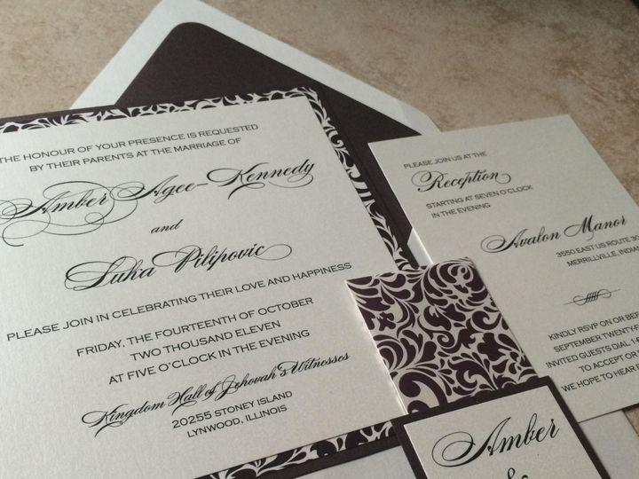 Tmx Amberlukainvite 51 1045397 1569352040 North Brunswick, NJ wedding invitation