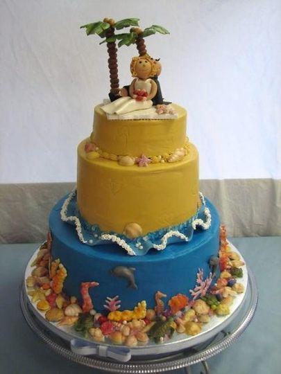 Wedding Cakes Pensacola Beach Fl