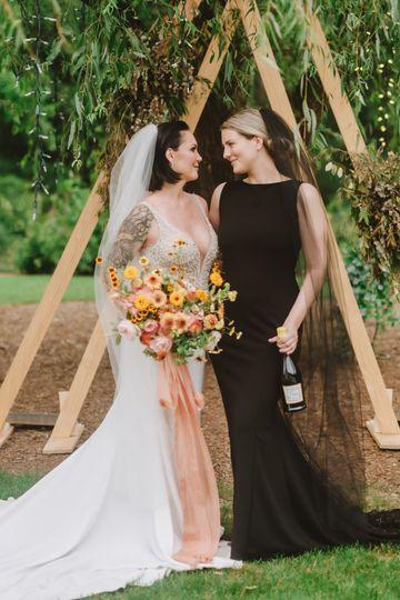 Colby & Meagan custom brides