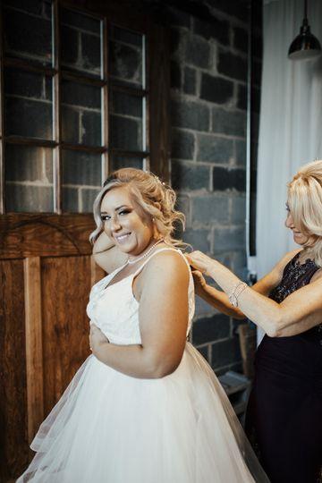 Real Bride Hayley