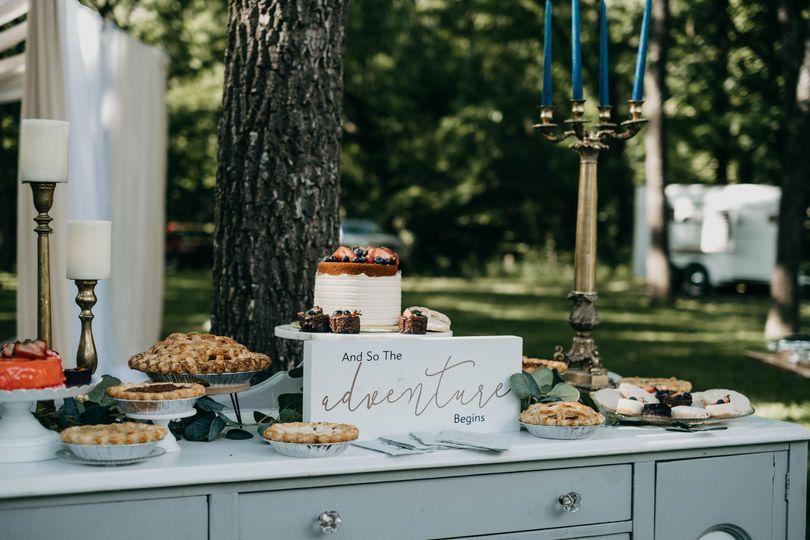 Dessert table #2