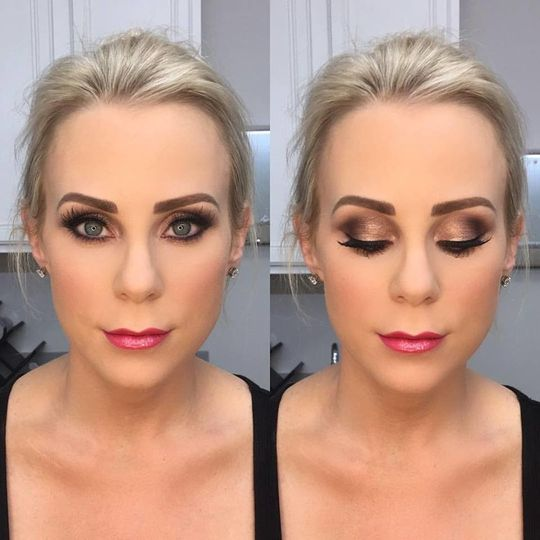 Metallic lipstick shade