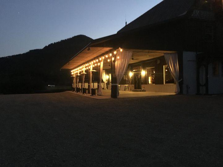 Veranda After Dark