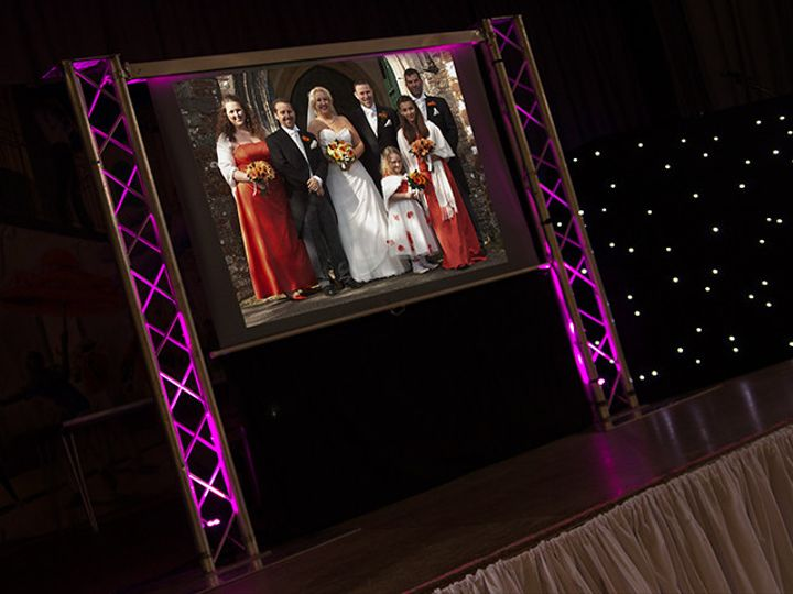 Tmx 1506397848149 Projection Screen Truss Gettysburg, PA wedding dj