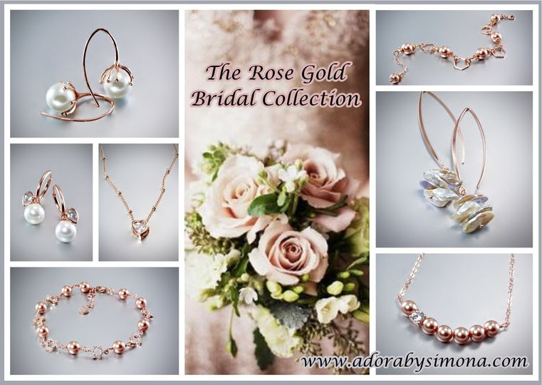 The new ADORA Rose Gold Bridal Collection - July 2016