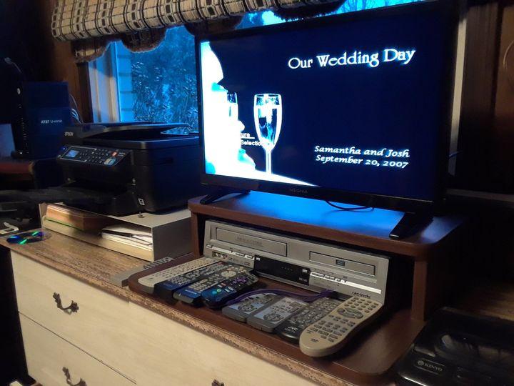 Our studio, DVD authoring.