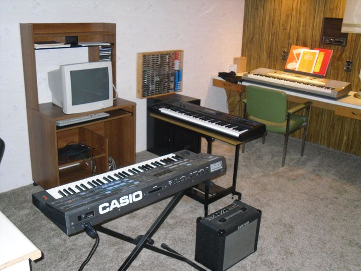 Our new music studio...