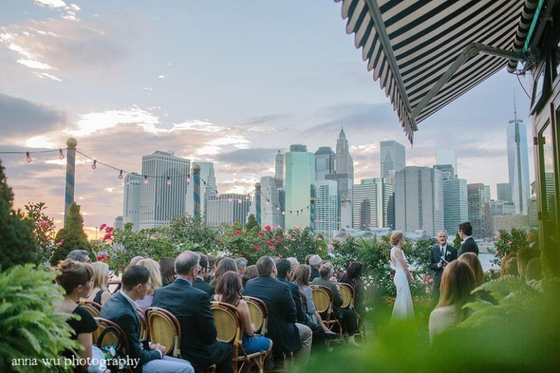 20 River Terrace Ny Of The River Cafe Venue Brooklyn Ny Weddingwire
