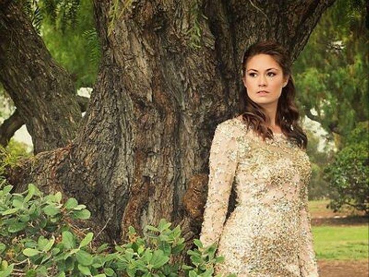 Tmx 1444066469259 Gold Dress 1 Carlsbad wedding dress
