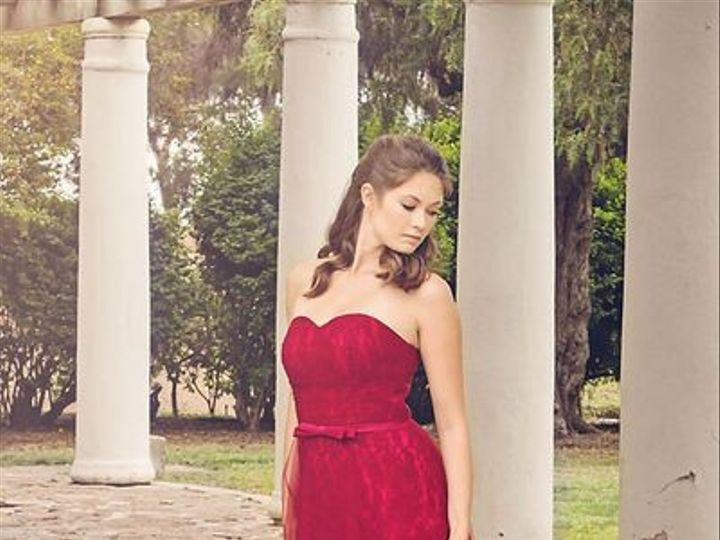 Tmx 1444066870092 Red Lace Tulled Dress 4 Carlsbad wedding dress