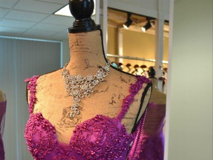 Tmx 1444068658919 Gown Close Up2web Carlsbad wedding dress