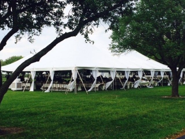 We can accomodate any size tent on our flexible locations.